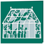 greenhouse gardening card