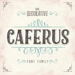 caferus font family