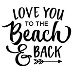love you - beach and back phrase