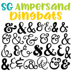 sg ampersands dingbats