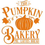 pumpkin bakery sign