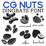 cg nuts dingbats