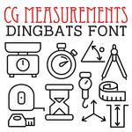 cg measurements dingbats
