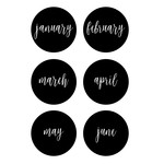 monthly markers