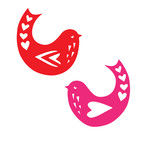 lovebirds icons