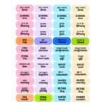 kids school planner stickers