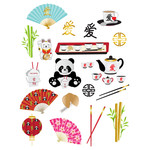 chinese inspired planner stickers