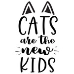 cats are new kids