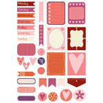love is in the air planner stickers