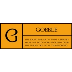 g is for gobble pc