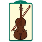 musical tag violin