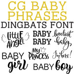 cg baby phrases dingbats