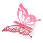 clothes pin coloring pretty butterfly