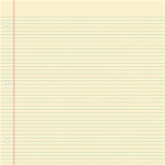 tomato sauce - notebook paper