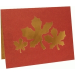 card: 3 leaves