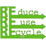 reduce, reuse, recycle phrase