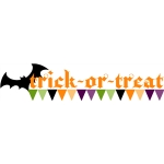 echo park trick or treat banner
