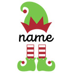 personalized name elf