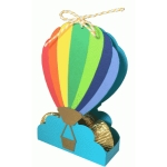 hot air balloon favor box