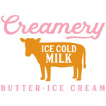 creamery ice cold milk butter