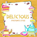delicious font family