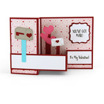 pop up box card valentine mailbox