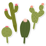 cactus cupcake toppers