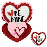 be mine double easel card
