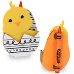 chick easter crayon egg