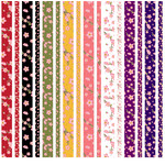 cherry blossom washi strips