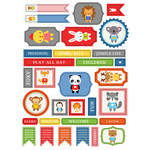 ml preschool animals stickers