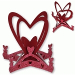 heart table ornament
