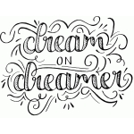dream on dreamer sketch